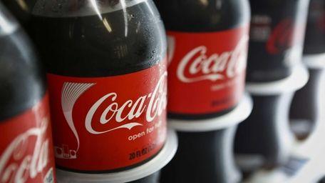 Coca-Cola has seen soda volume in North America