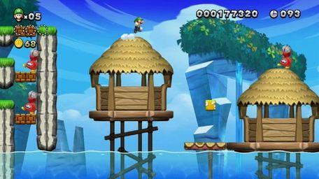 Where's Mario? New Super Luigi U, available for