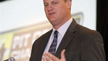 Steve O'Donnell, vice president of NASCAR's racing operations,
