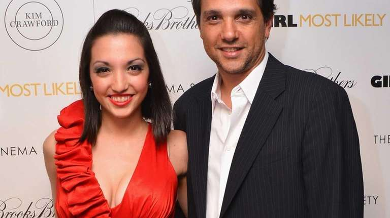 Julia Macchio and father Ralph Macchio attend the