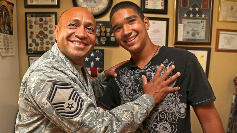 Air Force Reserve Senior Master Sgt. Jose Cortez,