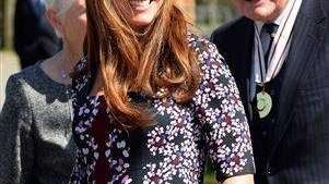 Kate Middleton visits The Willows Primary School in