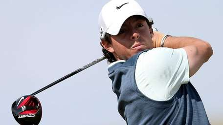 Rory McIlroy, pictured, shrugged off a suggestion from