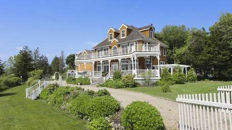 The North Fork house has water views from