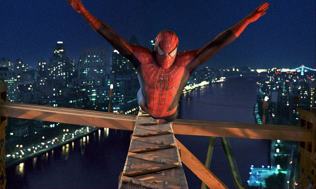 With Tobey Maguire as the amiable Peter Parker