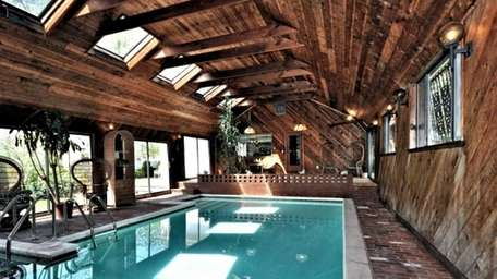 An aeronautical engineer designed this pool room for
