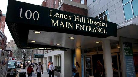 Lenox Hill Hospital in Manhattan was named a