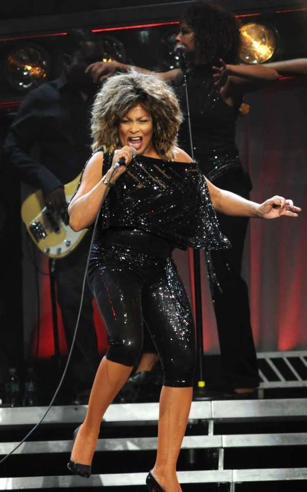 Tina Turner in concert at the Nassau Coliseum