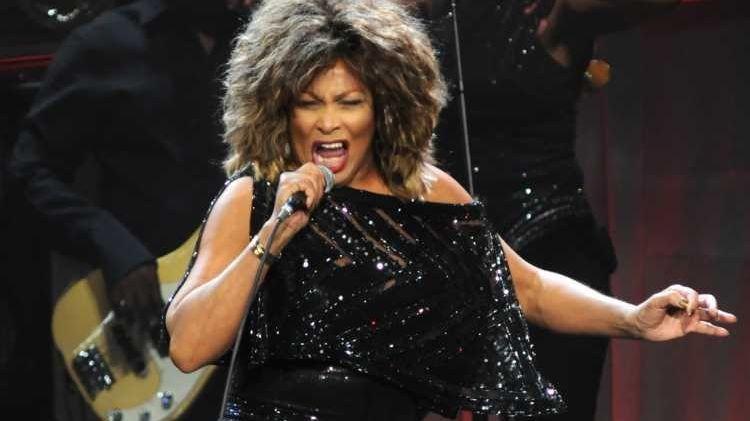 Tina Turner in concert at the Nassau Coliseum