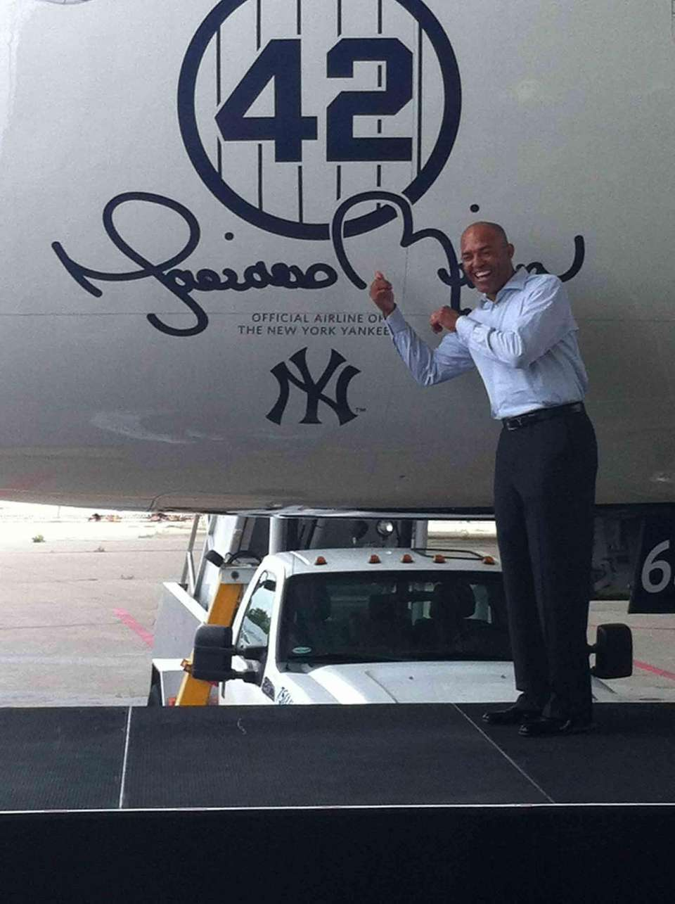 DELTA AIR LINES Rivera was honored by Delta