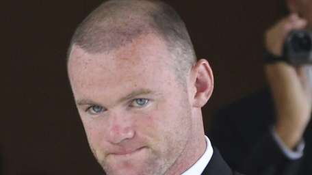 Wayne Rooney, pictured, also sought to leave Manchester