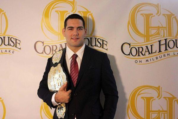 UFC Middleweight World Champion Chris Weidman, a Baldwin