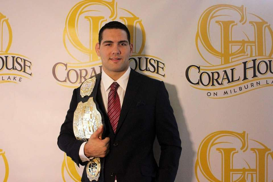UFC Middleweight World Champion Chris Weidman, a Baldwin