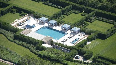 Billionaire Ira Rennert, whose 64,389-square-foot Hamptons home is