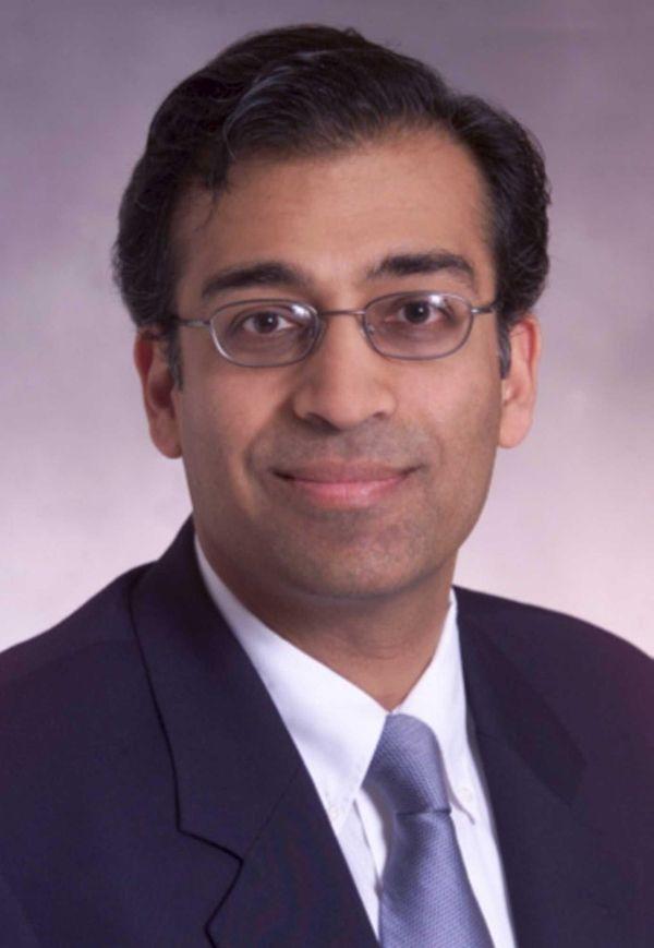 Yogesh Gupta, the former chief executive of Mineola-based