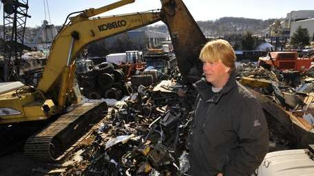 The City of Glen Cove condemned the site