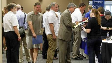 The number of Americans applying for unemployment benefits