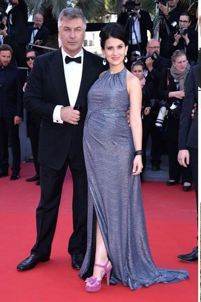 """30 Rock"" star Alec Baldwin and wife Hilaria"