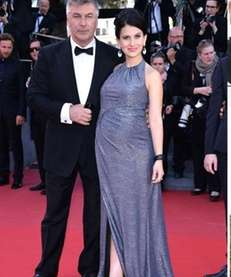 """30 Rock"" star Alec Baldwin and wife Hilaria"