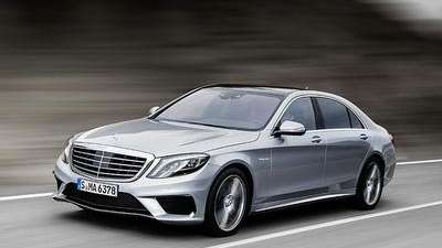 The 2014 Mercedes S63 AMG 4Matic is a