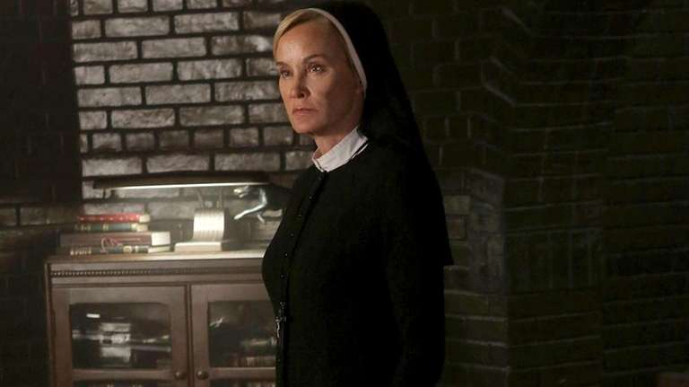 Jessica Lange portrays Sister Jude in a scene
