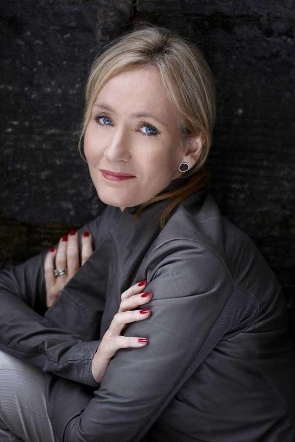 Author J.K. Rowling has written a crime novel,