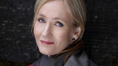 Author J.K. Rowling has written a crime novel,