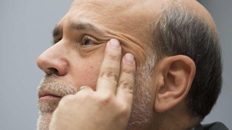 Chairman of the Federal Reserve Ben Bernanke testifies