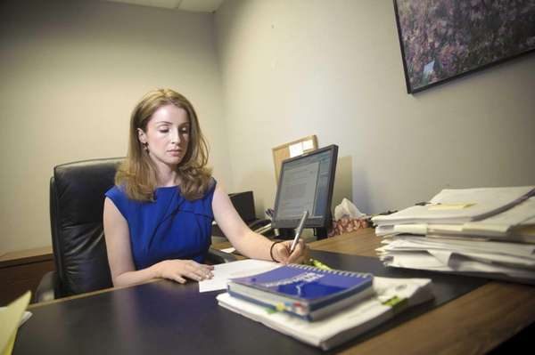 It took newly minted lawyer Erin Lynch, 27,