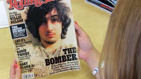 An early copy of Rolling Stone magazine's August