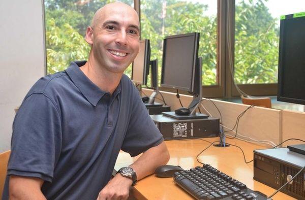 Christopher Kauter, a social studies teacher at Deer