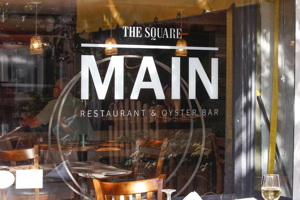 Main, a restaurant located in Greenport. (July 13,