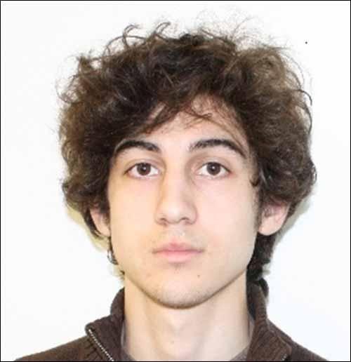 This photo shows Boston Marathon bombing suspect Dzhokhar