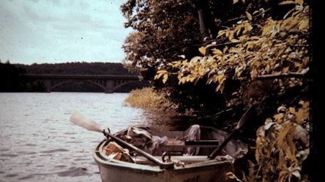 The main source of transportation on Rye Lake