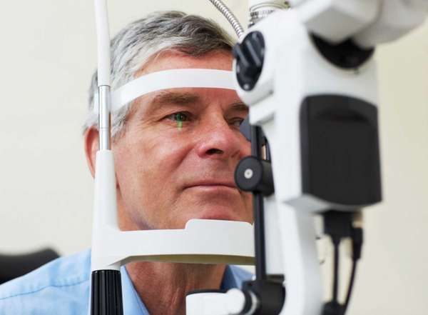 Dilating the eye helps the eye-care professional better
