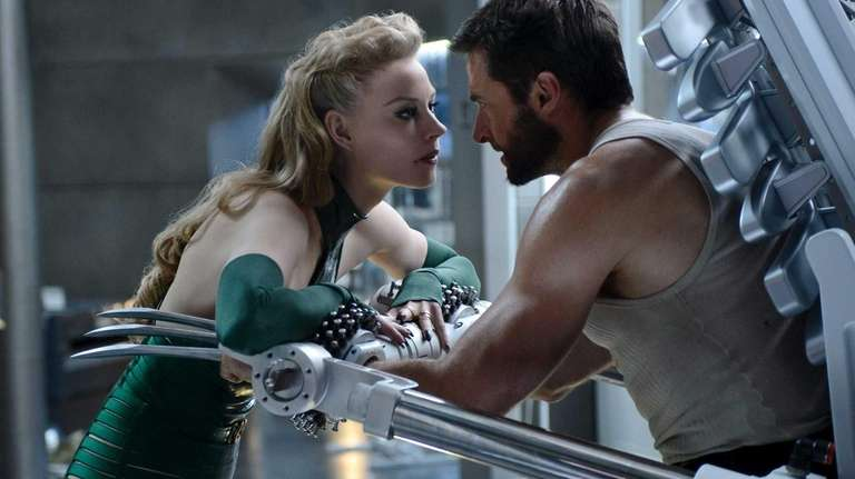 Logan (Hugh Jackman) is trapped by the poisonous