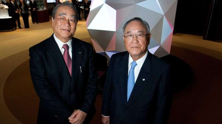 From left, Joe Adachi, president and chief executive