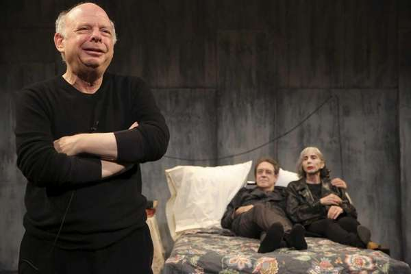 Wallace Shawn, Larry Pine, and Deborah Eisenberg in