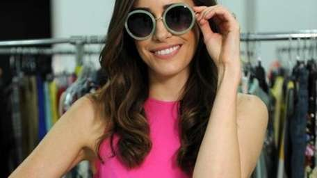 Fashion TV personality Louise Roe styled a very