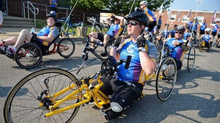 Wounded Warrior Bike Ride Long Island
