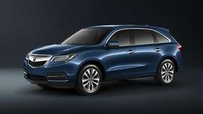 The 2014 MDX sports a sleek new design