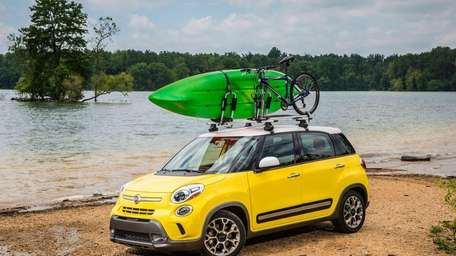 The 2014 Fiat 500L is a roomy European-style