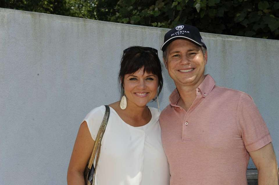 Tiffani Thiessen and Jason Binn spend the day