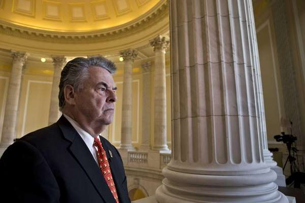Rep. Peter King expresses his anger and disappointment