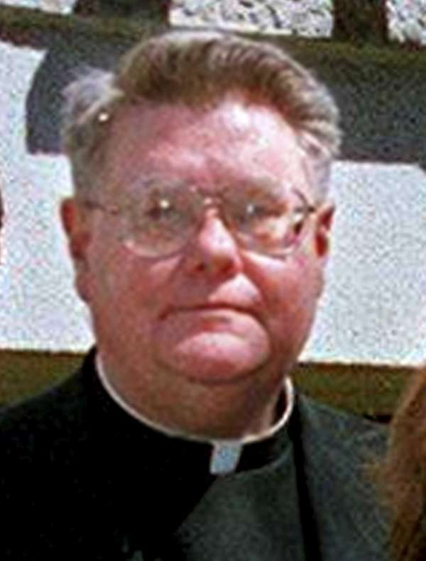Monsignor Gerald J. Langelier, pastor of Our Lady