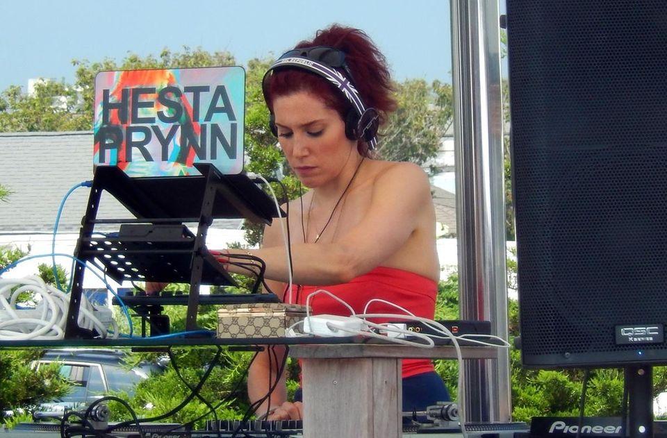 "Dix Hills-native Julie Potash-Slavin (AKA ""Hesta Prynn"") DJs"