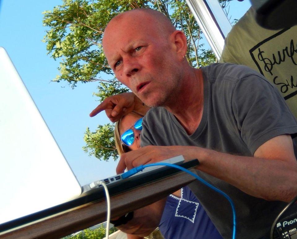 Musician Vince Clarke (former member of bands Depeche