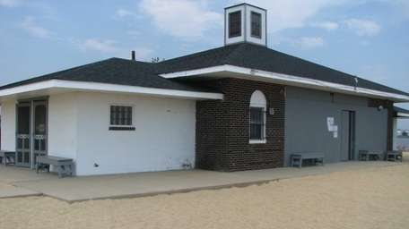 The snack bar at the Amityville Village municipal