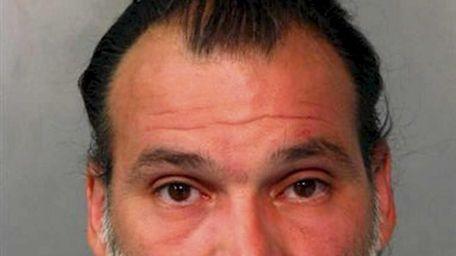 James Valente, 45, of Westbury, was arrested Saturday
