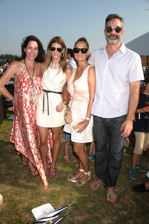 From left, Michelle Farmer, Catherine Landy, Claudia Avendano